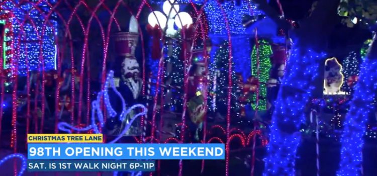 Ready to be dazzled? Christmas Tree Lane reopens this weekend