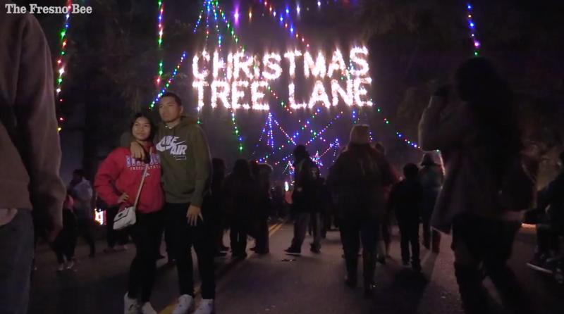 Christmas Tree Lane A Fresno Tradition Since 1920