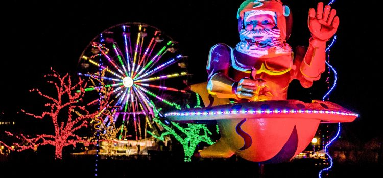 Where to see the best holiday lights in the West