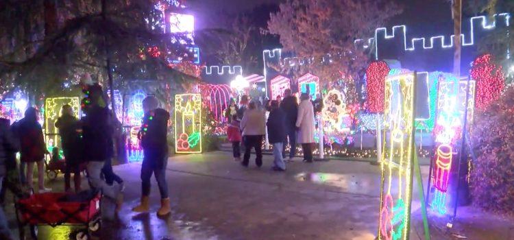 Iconic Christmas Tree Lane spreads joy on opening night